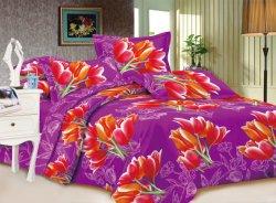 Het mooie Product van Georgië van het Huis van de Stof van de Polyester van het Af:drukken van de Kleur Textiel