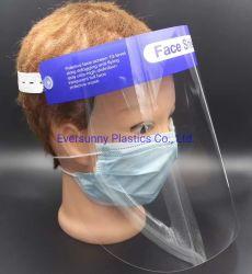 0,25 mm 0.3mm 0,4mm 0.5mm Anti-Fog Masque clair Sheild APET Feuille Feuille pet