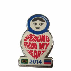 옷 (99)에 명예 접어젖힌 옷깃 Pin의 도매 형식 싼 금속