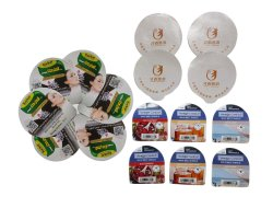 Sur mesure divers gobelets en plastique/pots à yaourt aluminium moulé 38 microns Film de couvercle en aluminium emballage alimentaire