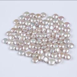 14-15mm AAAの白く自然な淡水の真珠の緩い真珠のビード