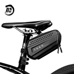 Bolsa de sillín de bicicleta Bicicleta debajo del asiento Pack bolsa para bicicleta de carretera de montaña MTB/ Atb bicicleta debajo del asiento trasero Pack EVA de la bolsa de cuadro de caballete