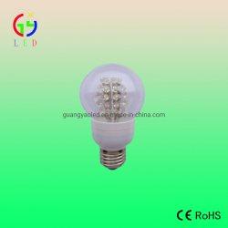 Светодиодный индикатор G60 лампы LED шар глобус E27 фонаря