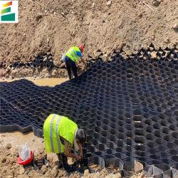 Geocell in HDPE Perforato plastico testurizzato liscio per parete di fissaggio 1.1mm-1.8mm