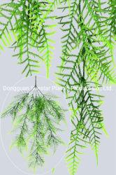 Los espárragos de plástico colgante de helecho Bush Planta artificial para la decoración (51230)