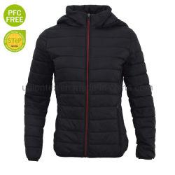 As mulheres Padding Jacket Superwarm Fake para baixo jaqueta de esqui de Camisa camisa exterior Estofamento Casaco híbrido