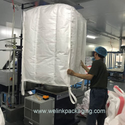 1 тонны FIBC PP отражательный щиток подушки безопасности 100% сырьевых материалов для упаковки цемента