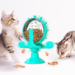 مصنع تصنيع المعدات الأصلية (OEM) تغذية الحيوانات الأليفة الذكية لعبة الحيوانات الأليفة إطعام القطط