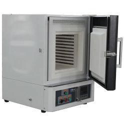 Laboratório (laboratório) Mufla/panela eléctrica aquecimento forno mufla de Tratamento Térmico