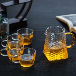Cristalería ecológica Tetera personalizado con mayorista de vasos de vidrio de borosilicato tetera de 300ml