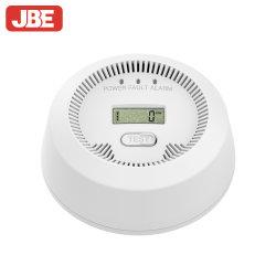 Jbe rond blanc du monoxyde de carbone Portable avec écran LCD d'alarme