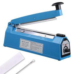 """공급 테이블 16""""/400mm/16인치/40cm 핸드 프레스 임펄스 PVC 백 씰러 PFS-400 씰링 머신"""