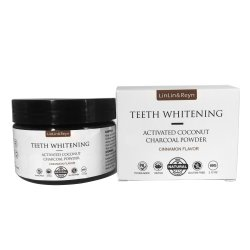Bureau de vente en gros FS Dent fine en vrac Whiteing OEM de carbone des aliments de noix de coco Grades de la poudre de charbon noir activé des dents