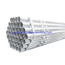 O tubo de aço do tubo de aço galvanizado para estruturar o material de construção