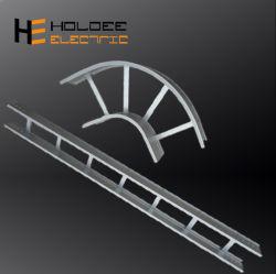 Piscina flexível de aço inoxidável Bandeja de cabos escadas com tamanhos de Acessórios