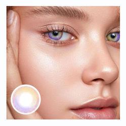 Fabrik Anpassen Soft Farbe Kontakt Linse Frauen Schöne Heiße Verkauf Augenlinsen