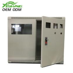 Armadio elettrico per distribuzione elettronica industriale con contenitore metallico
