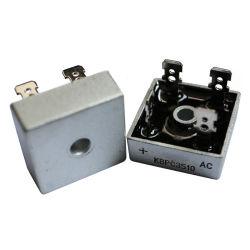 역방향 전압 - 50 ~ 1000V 실리콘 브리지 정류기 Kbpc2506