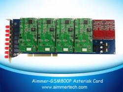 GSM800P 8 Portas gsm Suporte a cartão de asterisco asterisco/Trixbox/Elastix