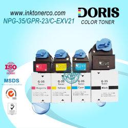 Prémio compatível com cartucho de toner recarregáveis Gpr23 C-EXV21 NPG35 IV de Toner Copiadora a Cores C2550 C2880 C3080 C3380 C3480 para a Canon Irc3380
