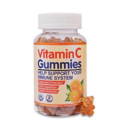 A vitamina C fruta natural Sabor Gomoso Suporte imune Suplemento Auxiliar