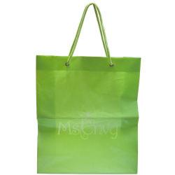 HDPEの再使用可能な衣服(FLS-8205)のための習慣によって印刷されるショッピング包装袋