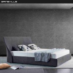 La fabricación de camas dormitorio moderno tipo de matrimonio tamaño king para Hotel GC1827