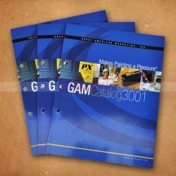 Catálogo de impressão de catálogos Brochura de Impressão imprimir papel de volta a impressão de livros