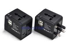 선전용 선물 (HS-T090DU를 위한 USB 포트를 가진 글로벌 여행 충전기. 아)
