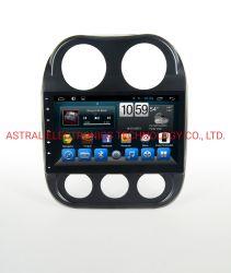 10.1 pulgadas DIN simple estéreo para coche con la navegación GPS Bluetooth para Jeep Compass