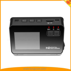 "HD 1080p 720p VGA, 170° 광각 렌즈 대시 카메라가 있는 2"" LCD 스크린 듀얼 카메라 카 DVR 레코더"