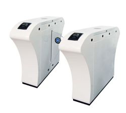 La trampilla de huella dactilar puerta barrera de la trampilla de torniquete con LED Digital con CE y SGS