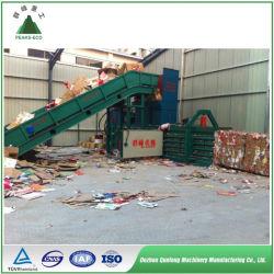 Venta directa de residuos de plástico PET de desecho hidráulica Máquina de embalaje
