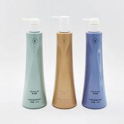 300ml 500 ml de cosméticos de plástico PET botella de champú y gel de ducha con la bomba de botella