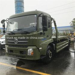 شاحنة سحب مسطحة جديدة من دونغفنغ بقدرة 3 أطنان مترٍ و4 أطنان مترٍ سيارة حطام