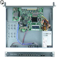 Brandmauer-Server Intel-B75 LGA1155 1u mit LAN 6* und umgehen die 10 Gigabit-optische Karte
