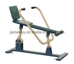 Gimnasio gimnasio al aire libre profesional de la máquina de remo