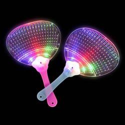 Voyant LED clignote Multi-Color-jusqu'à plat les fans de la main