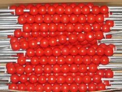 Cordões de madeira em cores com alta qualidade