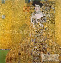 Klimt Peinture d'huile pour décoration murale