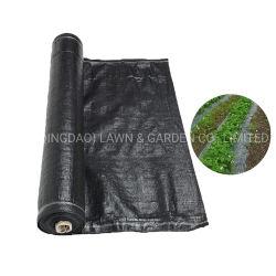 플라스틱 안티 UV PP 부직포 직물 농용 블랙 웨이드 매트 접지 커버