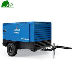 건설용 중국 디젤 이동식 스크류 공기 압축기