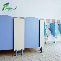 Pequeño trozo de laminado compacto Kids wc separador urinario