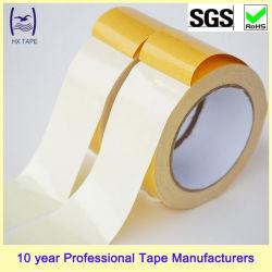 50 Mesh 280mic Schmelzkleber doppelseitig hoch selbst Selbstklebendes Teppichkantenband für Teppichversäumung und Fixed