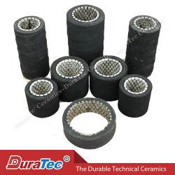 Souples en caoutchouc résistant à l'usure du flexible en céramique comme convoyeur (taille : 1-12 pouces)