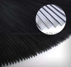 16mmは高さ黒いポリエステルPlisseの昆虫のスクリーンによってプリーツをつけられた網をプリーツをつけた