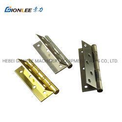 Los accesorios de hardware punzonado doblado estampado Anti-Rust Bisagra de puerta