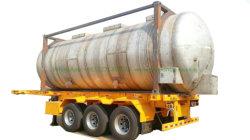 산, 화학제품, 식용 기름, 액체 음식, 아세트산, 붕소 산, 우유, 알콜 Tansport를 위해 사용하는을%s 교환 ISO 탱크 콘테이너 스테인리스