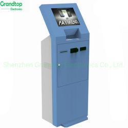 Оплата счетов самообслуживания киоск обмен денег машины киоск с сенсорным экраном заводская цена