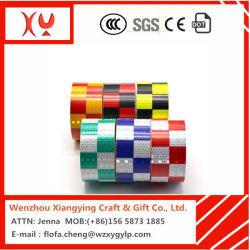 Dernière conception Personnaliser la bande de matériaux réfléchissants en PVC design pour la signalisation routière